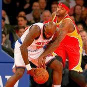 Josh Smith (5) Houston Rockets Quincy Acy (4) New York Knicks Madison Square Garden