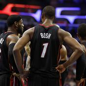 LeBron James, Chris Bosh et Dwayne Wade
