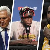 Steve Ballmer et Jerry West, Kawhi Leonard et LeBron James