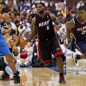 Dwight Howard (Orlando), LeBron James (Miami) et Joe Johnson (Atlanta)