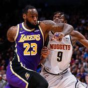 Les Lakers sur le fil à Denver, Toronto chute à Brooklyn