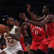 Les Raptors mettent fin à la série des Lakers