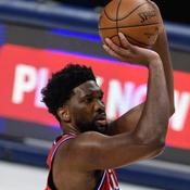 NBA : les Sixers au sommet grâce à un Embiid intenable