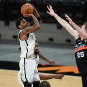 NBA : au bout du suspense, Harden et Irving arrachent la victoire à San Antonio