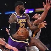 Gobert et Utah subissent la loi de LeBron James et des Lakers