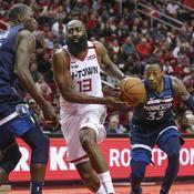 NBA : Harden s'invite dans le club des 20.000 points