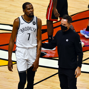NBA: le Heat arrache la victoire aux Nets, Durant encore blessé