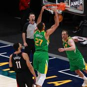 NBA: Le Jazz rebondit grâce à un bon Rudy Gobert