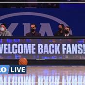 NBA : les fans de Knicks de retour au Madison Square Garden après un an d'absence