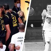 LeBron James et Anthony Davis, Duncan Robinson