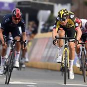 Amstel Gold Race: Pidcock tout près de battre van Aert