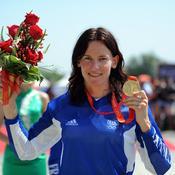 Championne olympique de BMX en 2008, Anne-Caroline Chausson a vaincu un cancer