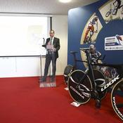 Michel Callot, président de la FFC