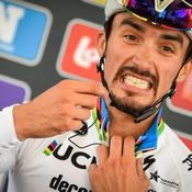 Cyclisme: les coulisses de la rentrée du champion du monde, Julian Alaphilippe