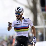 Flèche Wallonne : Julian Alaphilippe s'offre un exceptionnel triplé : «J'ai remis les choses en place»