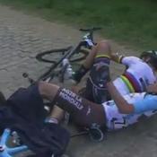 La chute spectaculaire de Peter Sagan sur le Tour des Flandres