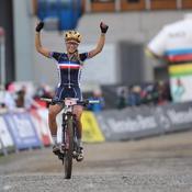 Pauline Ferrand-Prévot décroche un nouveau titre mondial en VTT