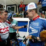 Tyler Hamiton et Lance Armstrong
