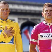 Lance Armstrong Jan Ullrich Tour de France 2005