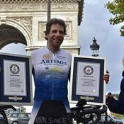 Un cycliste réalise un record du tour du monde en 78 jours