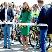 Kate Middleton et son mari le Prince William donnent le départ