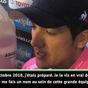 Carapaz après sa victoire sur le Giro : «Je me fais un nom»
