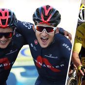 Kwiatkowski, Carapaz, Roglic : ce qu'il faut retenir de la 18e étape du Tour