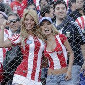 Paraguay-Brésil, supportrices