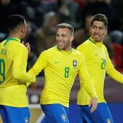 Gabriel Jesus offre la victoire au Brésil en République tchèque