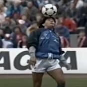 L'échauffement fabuleux de Maradona à Munich, symbole du génie sans pareil de l'Argentin