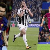 Messi, Higuain, De Bruyne