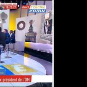 La chaîne L'Équipe présente ses axcuses après avoir annoncé par erreur la mort de Bernard Tapie (capture d'écran)