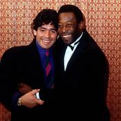 Diego Maradona et Pelé