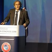 Platini, ému, au congrès UEFA : «Ma conscience est tranquille»