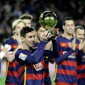 Messi a remporté son 6e Ballon d'Or