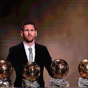 Ballon d'Or 2019 : Messi vainqueur, le classement complet