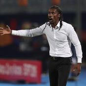 Aliou Cissé durant la demi-finale