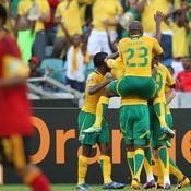 La joie des Sud-Africains