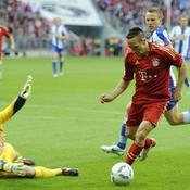 Ribéry brille avec le Bayern