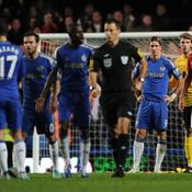 Chelsea, une défaite polémique