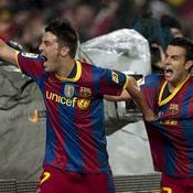 David Villa et Pedro