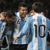 Di Maria-Agüero-Messi
