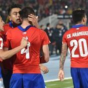Le Chili met KO l'Uruguay