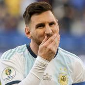 Lionel Messi suspendu trois mois avec l'Argentine