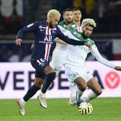 Neymar face à Mahdi Camara