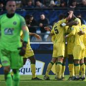 Coupe de France: Premier exploit signé Saint-Pierre, Nantes s'en sort à Bayonne