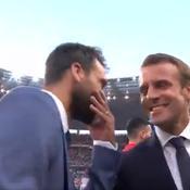 L'entraîneur des Herbiers à Macron : «Vous êtes une source d'inspiration»