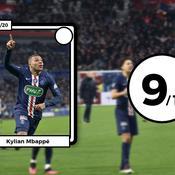 Les notes d'OL-PSG: Mbappé force 3, Marçal plombe les Gones