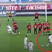 Le coup-franc surpuissant de Taye Taiwo contre Rennes en demi-finale de Coupe de France