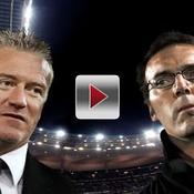 Didier Deschamps Laurent Blanc Marseille Bordeaux Coupe de la Ligue